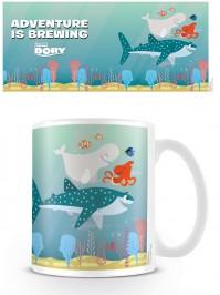Finding Dory Adventure Is Brewing Coffee Mug Tea Official Ceramic Film Disney