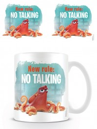 Finding Dory New Rule No Talking Coffee Mug Tea Cup Official Ceramic Film