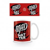 Alice Through the Looking Glass Mad As A Hatter Coffee Mug Tea Cup Official Ceramic