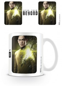 Star Trek Beyond Sulu Boxed Coffee White Gift Mug John Cho Movie Official