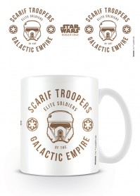 Star Wars Rogue One Scarif Troopers Disney White Tea Coffee Mug