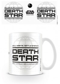 Star Wars Rogue One Death Star Disney White Tea Coffee Mug