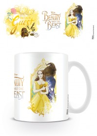 Beauty and the Beast Be Our Guest Tea Coffee Mug Disney Dance