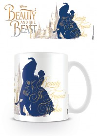 Beauty and the Beast Beauty Within Tea Coffee Mug Disney Dance