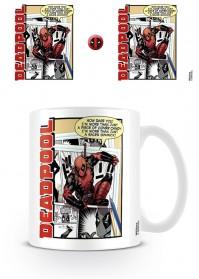 Deadpool Off The Page Coffee Mug Tea Cup Marvel Comics Official Movie Film Drinks