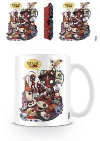 Deadpool Royalties Coffee Mug Tea Cup Marvel Comics Official Movie Film Drinks