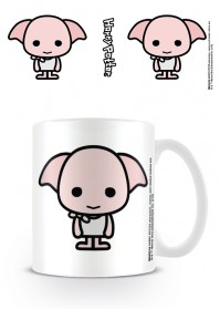 Harry Potter Official Chibi Cute Dobby Ceramic Mug Cup Tea Coffee Hogwarts