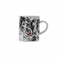 Batman The Joker Suicide Squad Mini Mug Cup Black White Official Boxed Gift