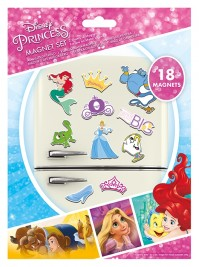 Disney Princess Dream Big Multicoloured 18 Piece Fridge Magnet Set Gift Official