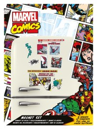 Marvel Comic Multicoloured 23 Piece Fridge Magnet Set Gift Official Avengers