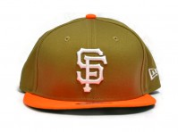 New Era San Francisco Baseball Giants Hat Cap Peak Adjustable Snapback American