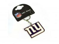 New York Giants American Football NFL Keyring Keychain Metal Crest Logo Official
