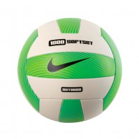 Nike 1000 Softset Outdoor Volleyball One Size Green White Sport Training Gift