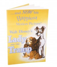 Lady And The Tramp Notebook Classic Disney Film Poster Official