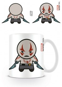 Guardians Of The Galaxy Drax The Destroyer Marvel Kawaii Coffee Mug Tea Official
