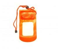 Orange Waterpoof Beach iPhone 3 4 5 Samsung Galaxy S3 S4 Digital Camera Bag Case