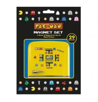 Pac Man 8-Bit Retro Official 29 Piece Fridge Magnet Set Game Arcade Ghost