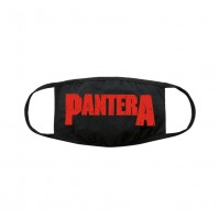 Pantera Official Adult Red Logo Face Mask Reusable 100% Cotton Breathable