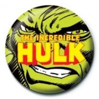 Marvel Comics Retro Incredible Hulk Face Avengers Official 25mm Button Pin Badge