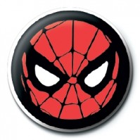Marvel Comics Spider-Man Icon Logo Iron Avengers Official 25mm Button Pin Badge
