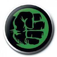 Marvel Comics Retro Hulk Green Fist Avengers Official 25mm Button Pin Badge