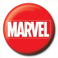 Marvel Comics Logo Film Movie Avengers Thor Hulk Official 25mm Button Pin Badge