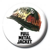 Full Metal Jacket Helmet 25mm Button Badge Pin Film Movie War