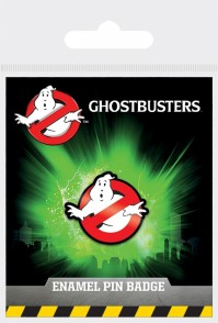 Ghostbusters Official Ghost Logo Enamel Pin Badge Film Movie Accessories