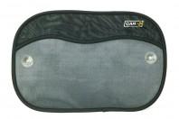 Sun Screens with Storage Bag 54 x 37 cm Sun Block Sunshade Sumex Bag Black Grey