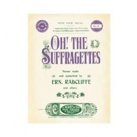 """""""Oh! The Suffragettes"""" Robert Opie Postcard Vintage Style Look Official New"""