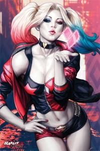 DC Comics Harley Quinn Kiss Large Maxi Poster Batman Suicide Squad Pin Up