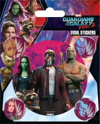 Set Of 5 Guardians of the Galaxy Vol. 2 Vinyl Stickers Official Baby Groot