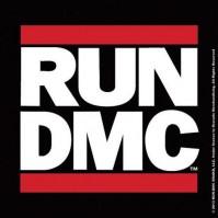 Run DMC Logo Individual Coaster Drinks Band Official Merchandise