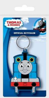 Thomas & Friends No 1 Thomas Official Rubber Keychain Keyring Rubber Metal
