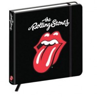 The Rolling Stones Hardback Journal Notebook Classic Tongue Band Logo Official