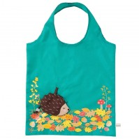 Hedgehog Foldable Tote Shopping Bag Eco Friendly Fun Carry Food Bag Reusable