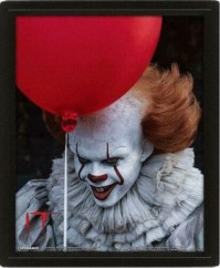 IT Pennywise Evil Flip Comic Book Montage 3D Motion Poster Photo Official
