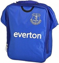 Everton Football Club Official Blue And White Kit Lunch Bag School Crest Shirt