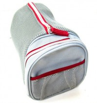Dolce & Gabbana The One Sport Man Grey Silver Red Toiletry Bag Mens Wash Gym Shave Shaving Kit