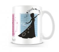 Frozen Silhouettes Mug Frozen Fever Disney Elsa Anna Snow Cup Tea Coffee Kids