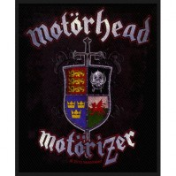 Motorhead Motorizer Sew On Patch Woven Music Official Band Rock Heavy Metal