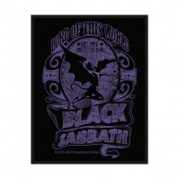 Black Sabbath Standard Patch Black Purple Sew On Woven Official Heavy Metal Rock