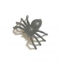 1 X Joke Fake Black Spider Prank Realistic Trick Small Gag Halloween Prop Gothic