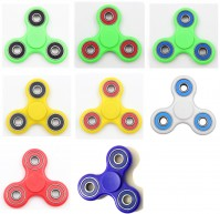 Hand Fidget Tri Spinners Toy Kids Adult Focus Funny Anti Stress ADHD Autism