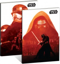 2 x Star Wars The Force Awakens Kylo Ren A5 Exercise Notebook Notepad Official