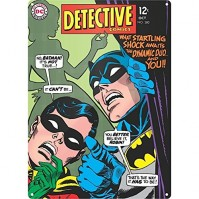 Batman Detective Robin Steel Sign Comic Book Cover Classic Official DC Comics