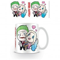 Suicide Squad Crazy Love Tea Coffee Mug Joker Harley Quinn Batman Cute DC Comics