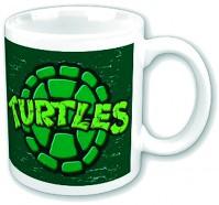 Teenage Mutant Ninja Turtles Retro Shell Picture Coffee Mug Cup Boxed Official