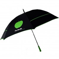The Beatles Golf Umbrella Black Apple Sign Logo Official Product