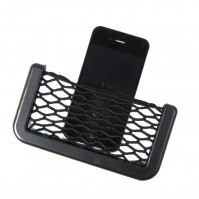 In Car Tidy Black Storage Net Pouch Money Phone Sunglasses Holder Pocket Cigarette